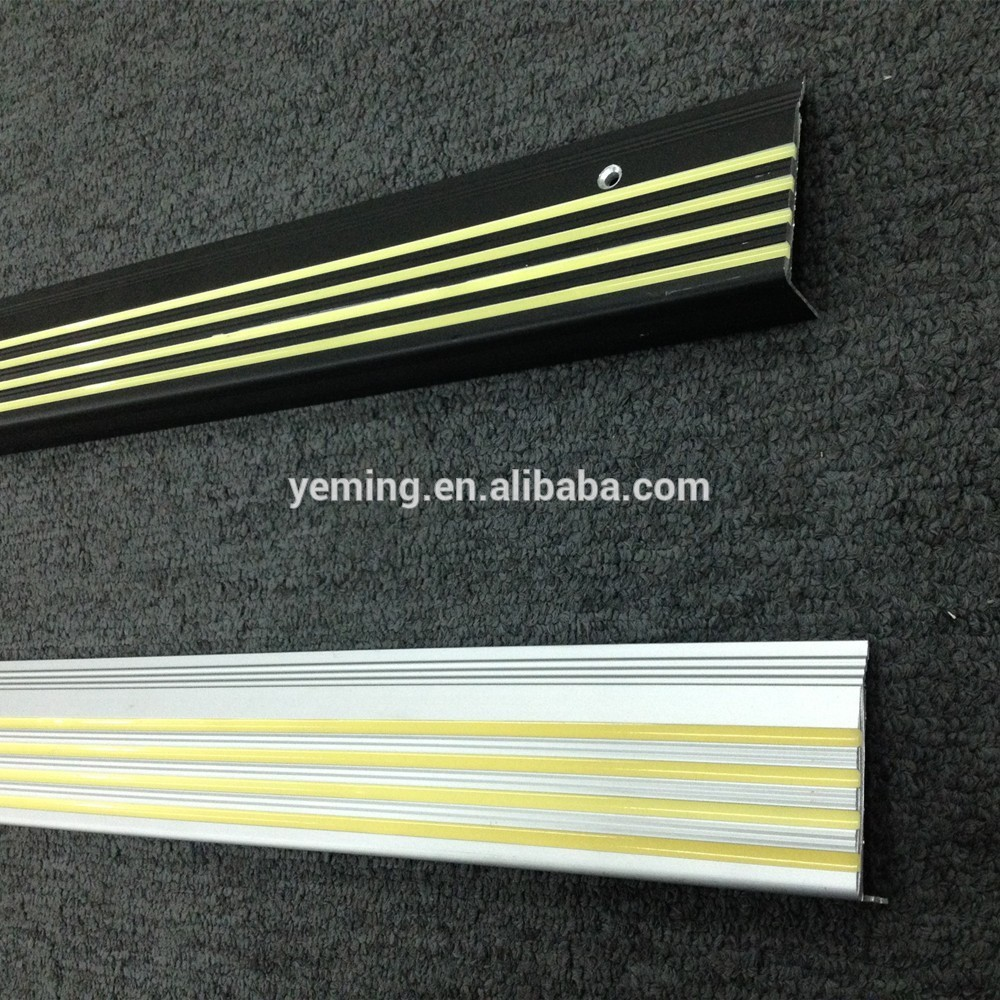 Aluminum Stair Nosing, Aluminum Stair Nosing Suppliers And Manufacturers At  Alibaba.com