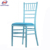 Colourful romantic style aluminium tiffany marry chair