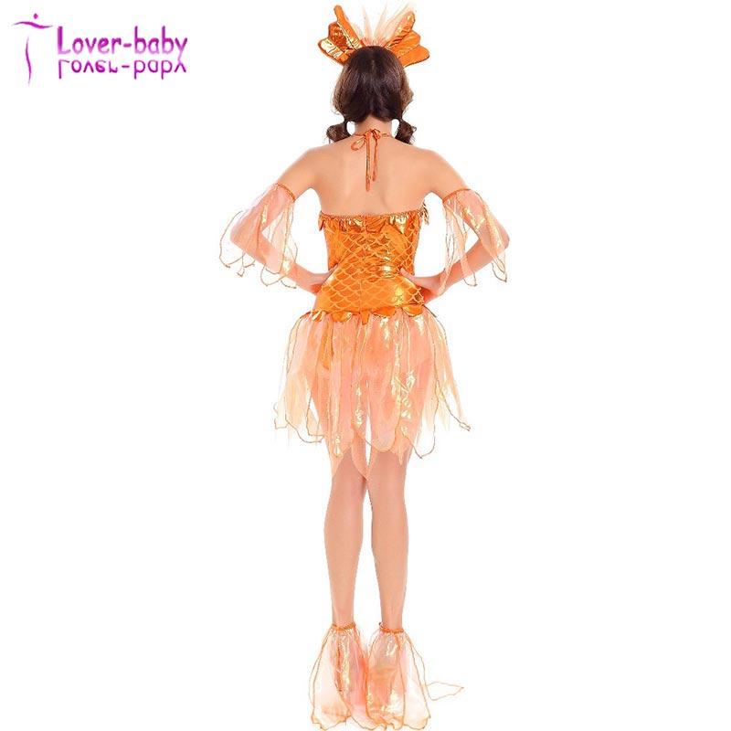 ... Sexy Goldfish Costume (6).jpg  sc 1 st  Wholesale Alibaba & Halloween Womenu0027s Sexy Goldfish Costume L1144 - Buy Sexy Goldfish ...
