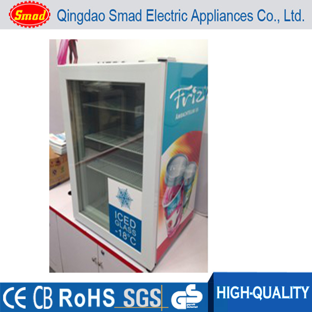 Congelador vertical peque o helado pantalla del congelador for Congelador vertical pequeno