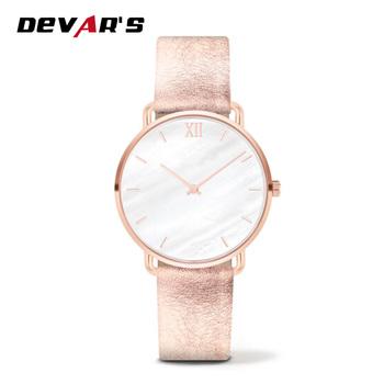 De Moda Ultra Slim Dama Relojes Pulsera Reloj Con Correa De Cuero Buy Reloj De Pulsera De Cuarzo Para Mujer,Reloj De Oro Rosa,5 Atm Acero Inoxidable