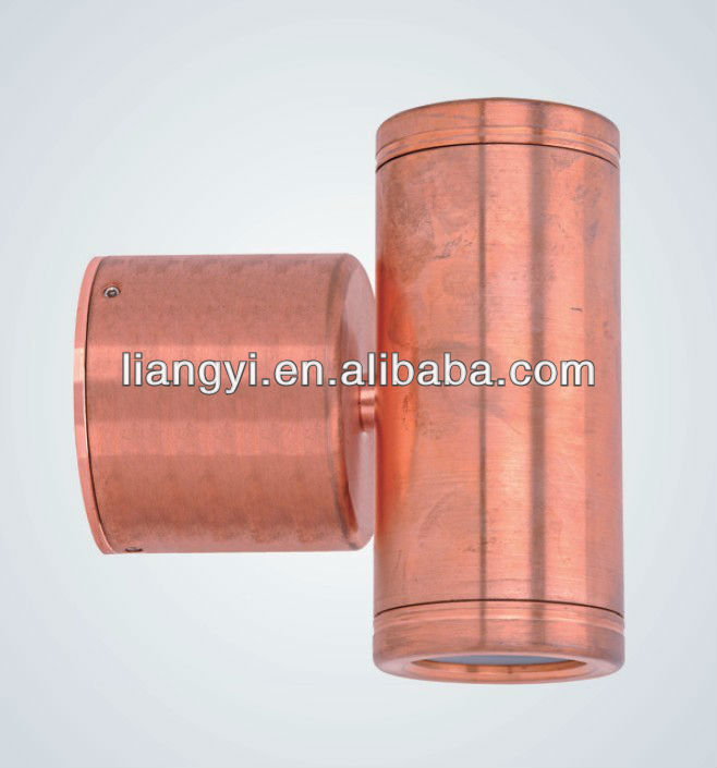 solid copper MR16 outdoor wall spot light