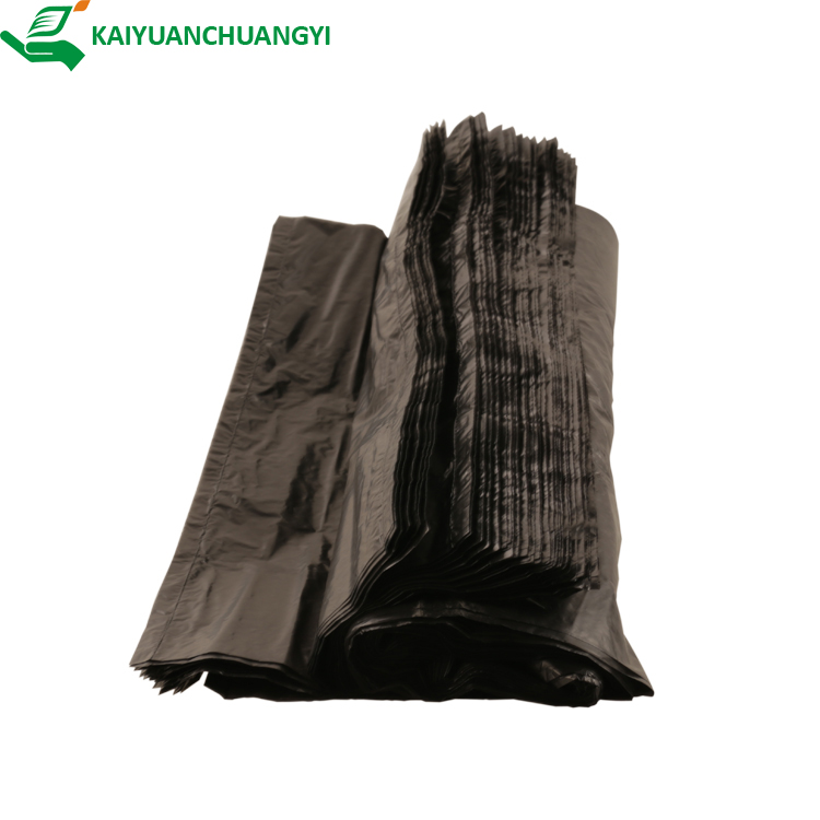 HDPE CAR PLASTIC DISPOSABLE BIODEGRADABLE GARBAGE BAG ROLL <strong>BLACK</strong>