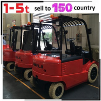 Warehouse Manual Automatic Electric Mini Forklift Electric Small Forklift for Sale With Battery Low Price