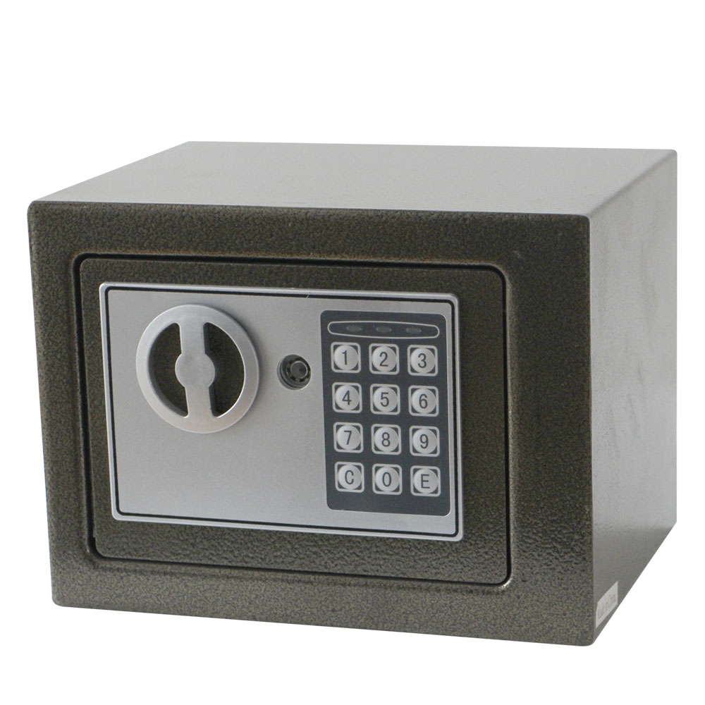 Secure Smart Safe Electronic / Home Metal Money Cash And Jewellery Safe Electronic Deposit Gift Box Digital Spa Locker For Hotel