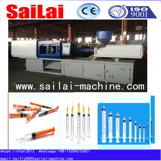 disposable syringe plastic injection molding machine/making machine for medical use