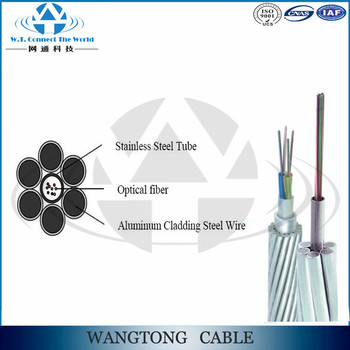 Double Layer Stranded Optical Ground Wire/opgw Cable - Buy Stranded ...