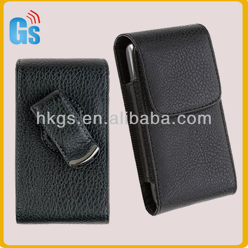 For LG Nexus 4 E960 Vertical Leather Flip Pouch Rotate Clip Phone Case Holster New