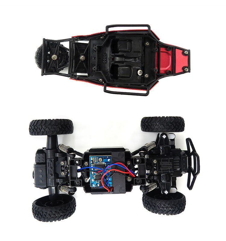 16. SL-109A_Red_Metal_Off-road_Climbing_RC_Car