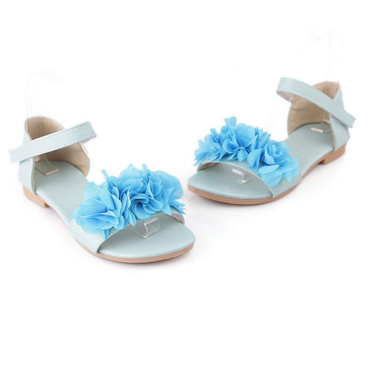 Gladiator Sandals for Women Bohemia Beaded Summer Flower Lady Flat Flip Flops Women Shoes Sweet Color Sandals