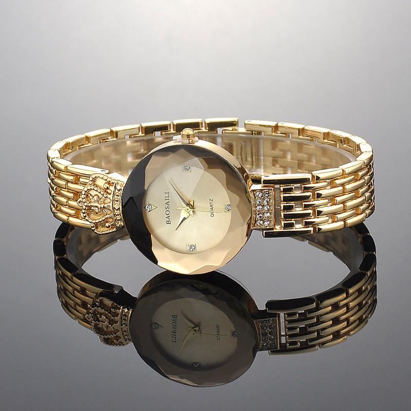 e2322a21dfb Fantasia Coroa Relógio Único Relógio de Marcação de Strass Embelezado ...