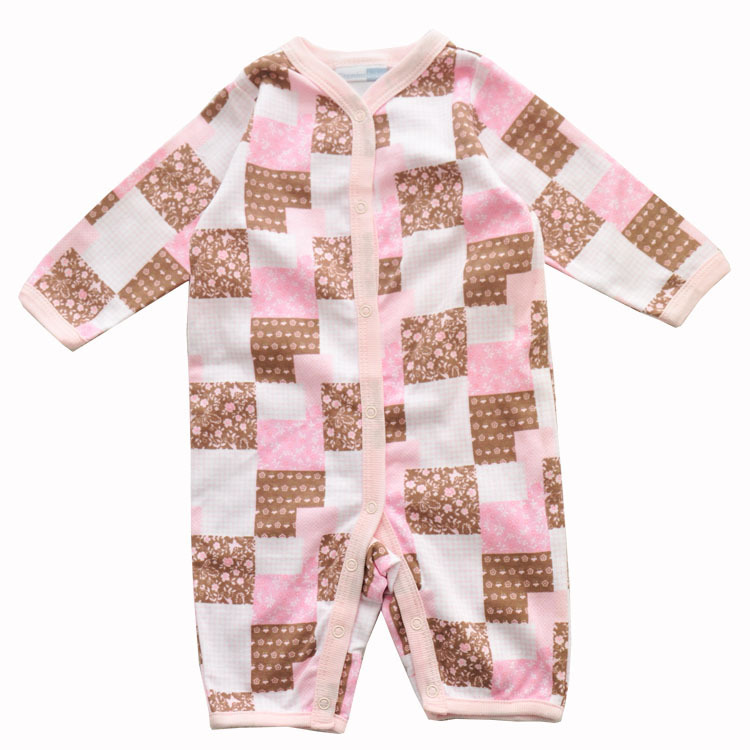Buy Baby Romper Short Sleeve Pink Cotton 100 Jersey Baby Clothes 2