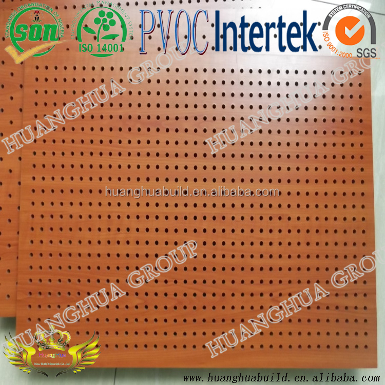 Perforated Gypsum Ceiling Board Drywall Plasterboard