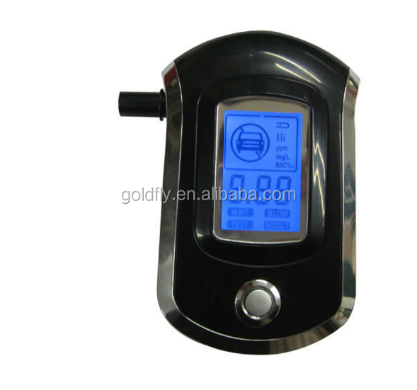 Professional Personal Portable Alcohol Tester with Special Calibration Functions Policy of Alcohol Tester in your Vehicle AT6000