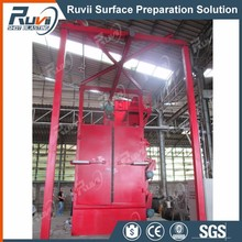 RV37 Hanger Hooks Type Shot Blasting Machine for Gas Cylinder