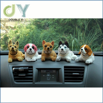 Custom Bobblehead Doll Toy Car Accessories / Interior Decoration bobble head for dashboard funny car accessories