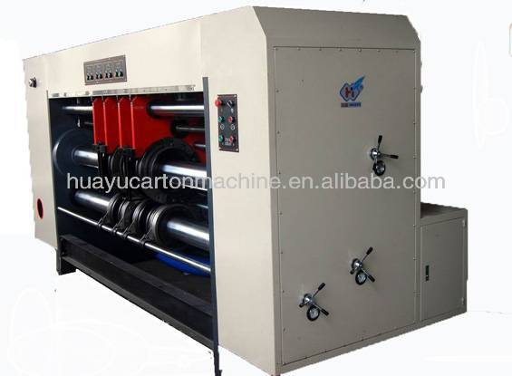 HY-ZK series automatic corrugated box rotary slotter machine/vacuum absorb feeder/ carton box machine