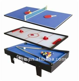 Merveilleux ( Mini Pingpong+mini Pool+mini Air Hockey Table)children Toys Game Machines  In Toys And Enterntainment   Buy Multi Game Table,Functional Table For  Kids,Mini ...