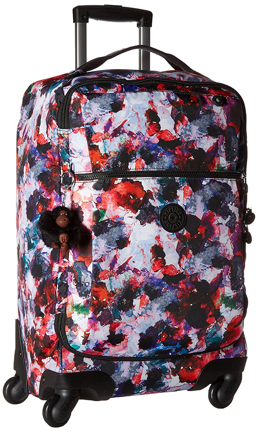 2a0bcb598c5 Get Quotations · Kipling Darcey Small Printed Wheeled Luggage Carry On Bag
