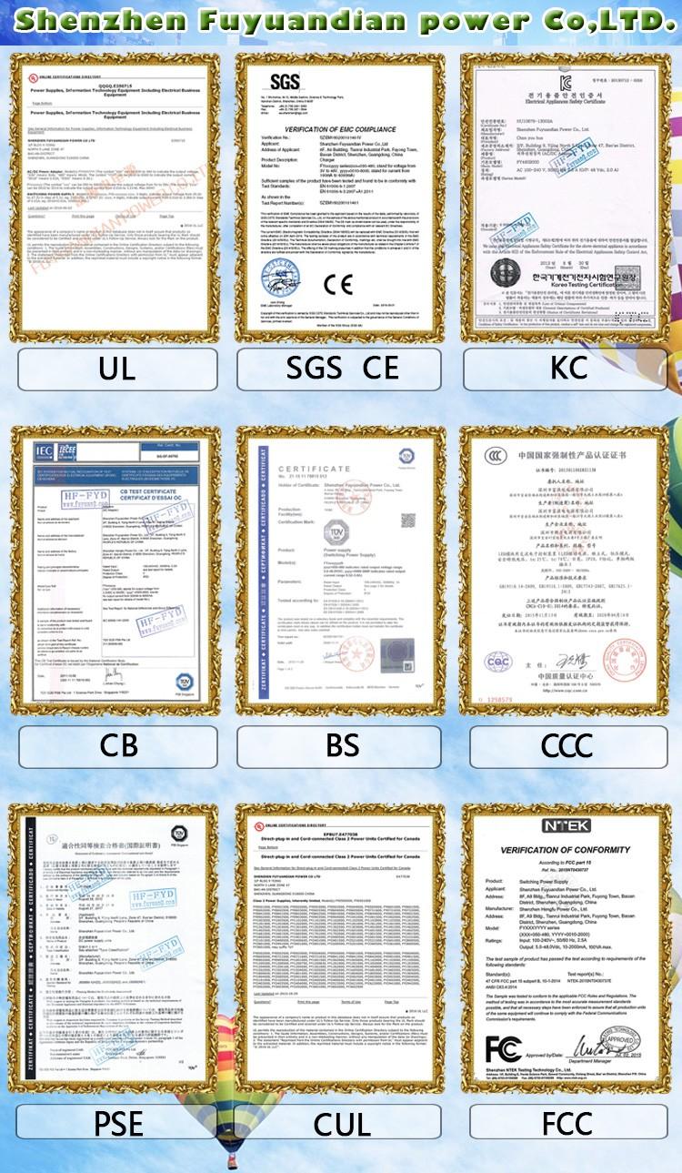 2018 Nuovo prodotto 29.4 V 1.5A accessori caricabatterie per hovershoes CE UL KC KCC PSE CB CCC SAA certificati 2 anni di garanzia