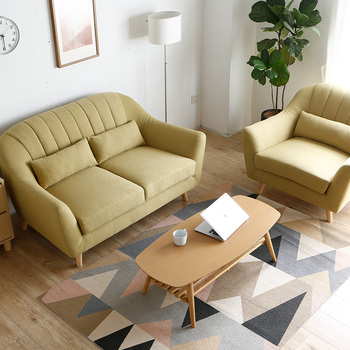 Assessed Supplier Indoor Simple Wooden Indian Sofa Furniture