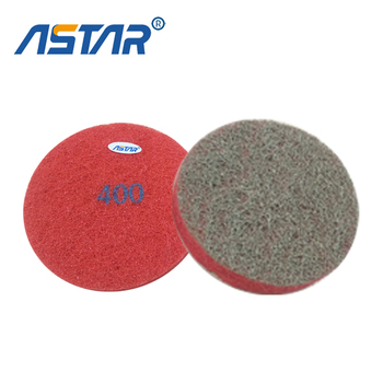 2017 new 17'' 18'' 19'' diamond sponge polishing pad for stone finishing