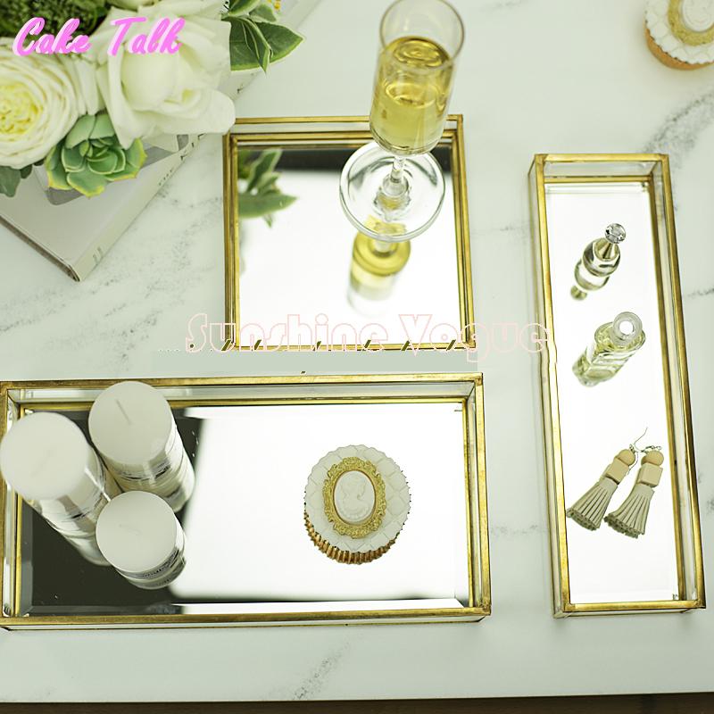 Popular Glass Mirror Tray-Buy Cheap Glass Mirror Tray lots
