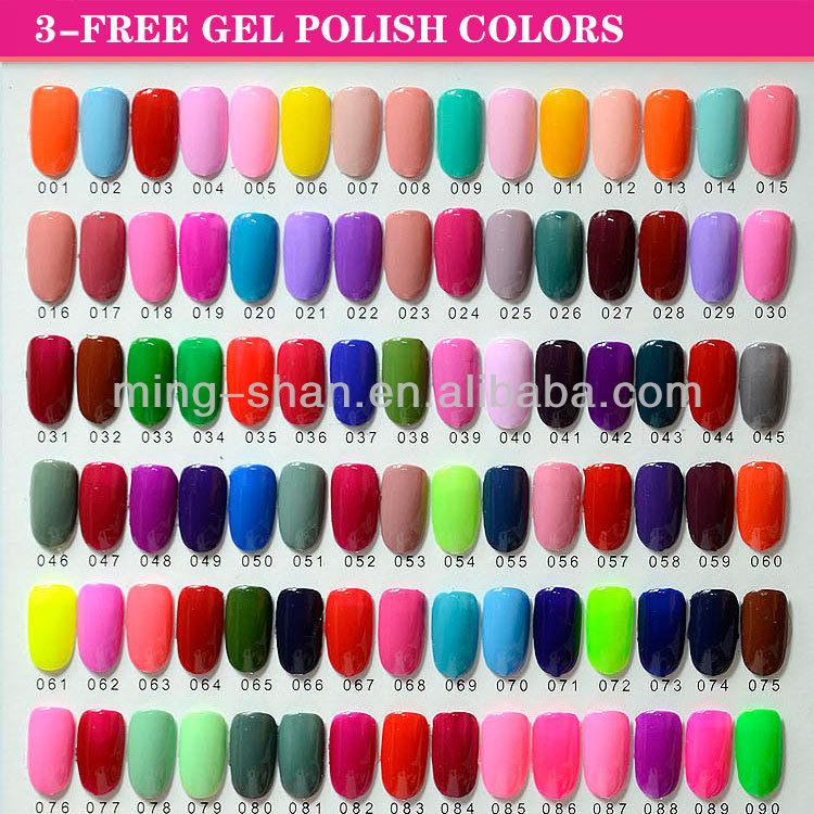 3 Free Ibd High Quality Color Nail Gel Uv Polish