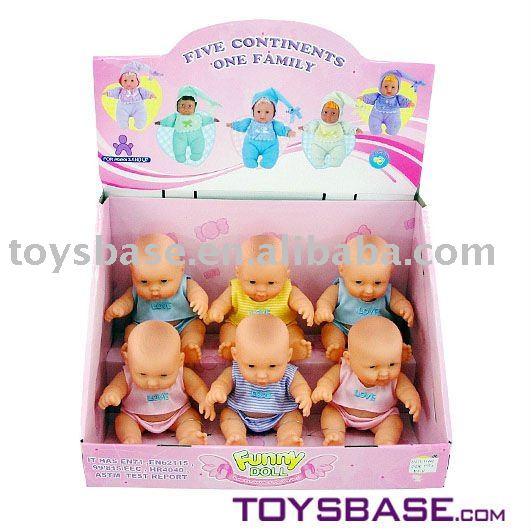 8 Mini Baby Dolls With Clothes 6pc Set Buy Mini Baby Dolls Baby