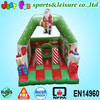 inflatable Christmas bouncing castle, inflatable small bouncer