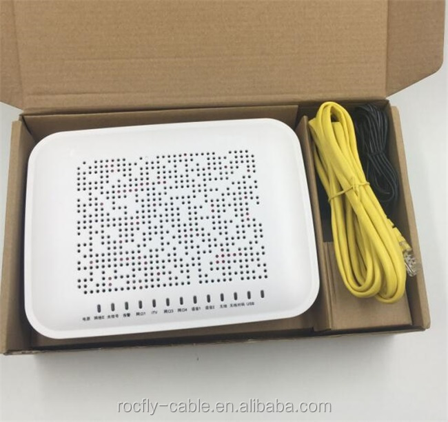 Fiber optic to the building or home ZTE ZXA10 F460 FTTB or FTTH ONU, 4 port wireless EPON terminal WIFI
