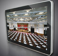 46 inch lcd wall mounted advertising screen,advertising system lcd advertising display computer