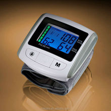 Taiwan, Color Backlight IPD Function Digital Wrist Blood Pressure Monitor