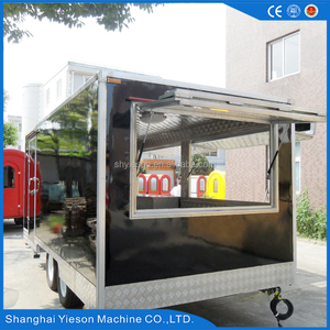 New Condition and overseas After-sales Service Provided electric food truck trailer cart to sell food trailer