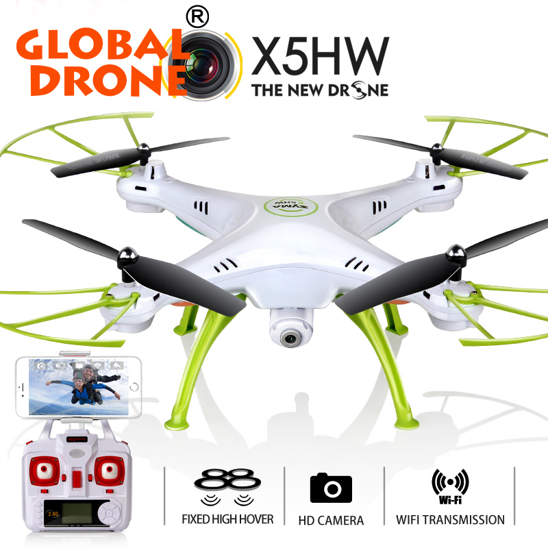 Syma X5HW Upgrade Wifi 2016 Fpv Drone with 0.3mp Real time HD Camera Fixed High Rc quadcopter Helicopter 2.4Ghz 4CH 6 Axis Gyro