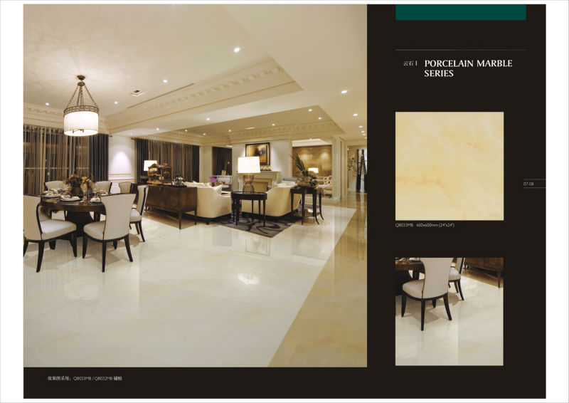 Marble Look Polished Porcelain Tile Porcelain Floor Tile