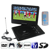9.5 inch TFT LCD Screen Digital Multimedia Portable DVD Payer with Card Reader & USB Port, Support TV (PAL / NTSC / SECAM) & Gam