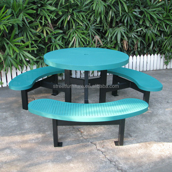 Red powder coating metal kinds outdoor picnic table with 4 benches red powder coating metal kinds outdoor picnic table with 4 benches watchthetrailerfo