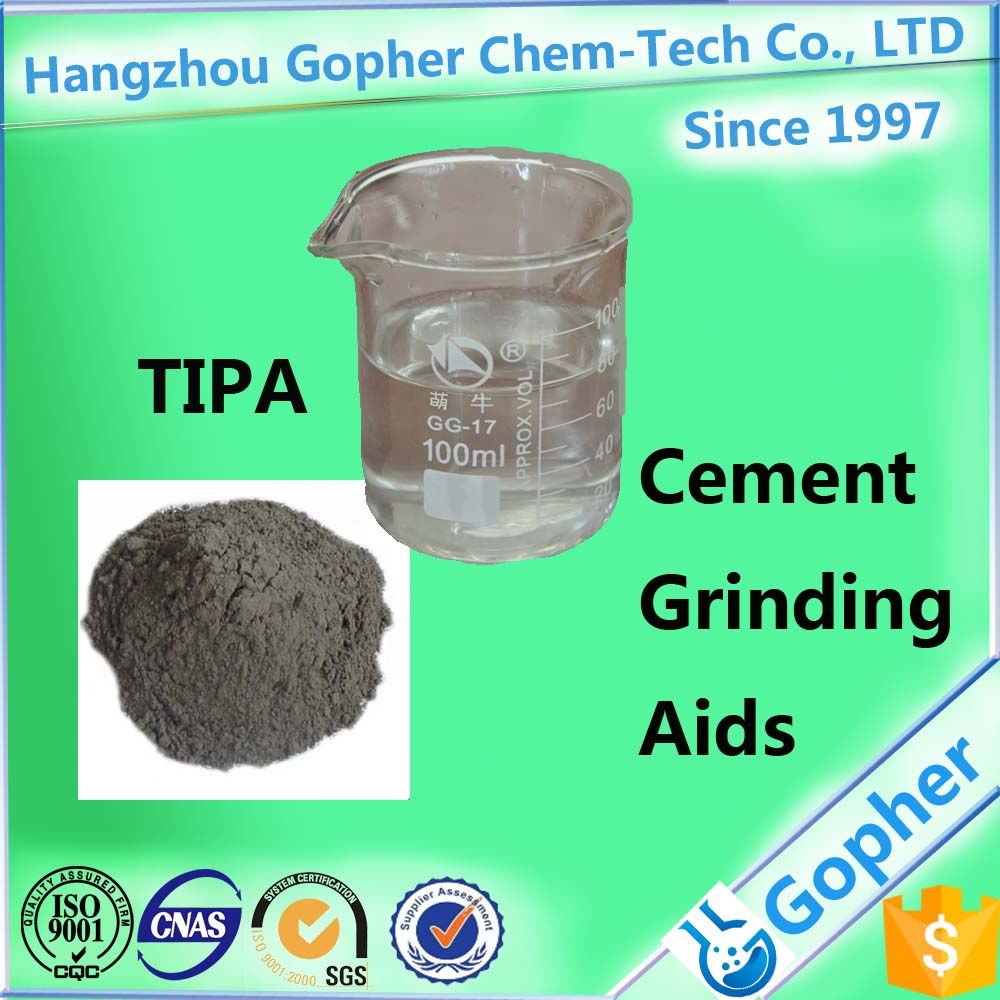 Triisopropanolamine TIPA for concrete additives to improve the strength CAS:122-20-3