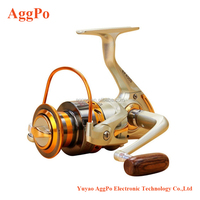 Fishing Spinning Reel,Left/right Interchangeable 12BB Ball Bearing Saltwater/ Freshwater Ultra Smooth Fishing Spin Reel