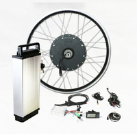 Hot sale 48V 10000w Fat Tire Electric Bicycle Conversion Kit with Battery German Design for powerful Adult beach and snow