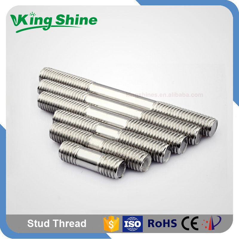 Fasteners Manufactures A2 A4 70 80 Stainless Steel Stud Bolt