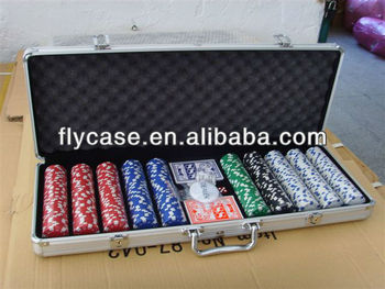 customize aluminum poker chip game case aluminum carrying case with foam insert