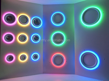 ultra thin colour changing led panel light