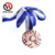 Top Quality Enamel Type And Gold Plated Custom Cardboard Packaged 3D Metal Alloy Memorial Medal Set