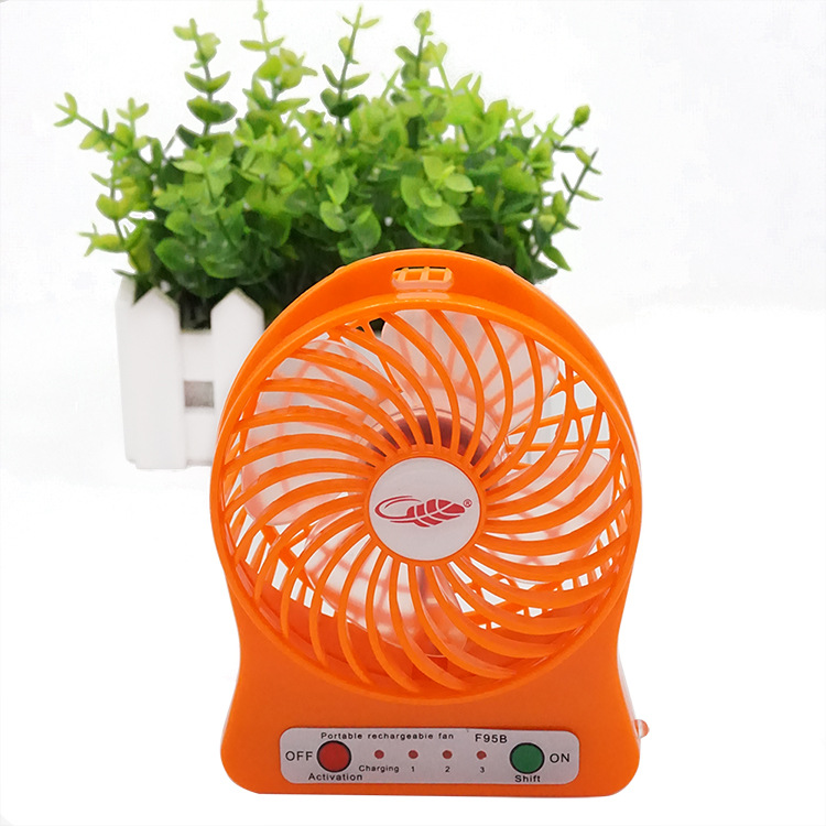 Summer gift wholesale price portable mini pocket fan battery charger table fan, table fan winding machine