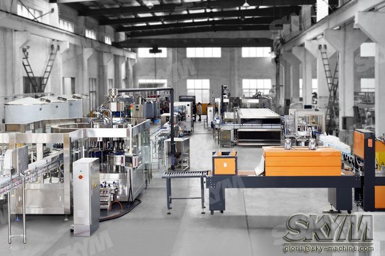 2000BPH 8-8-3 Monoblock PET Bottle Pure Drinking Water Filling Bottling Manufacturing Machine