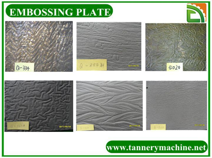 hydraulic press leather embossing plate mould for leather
