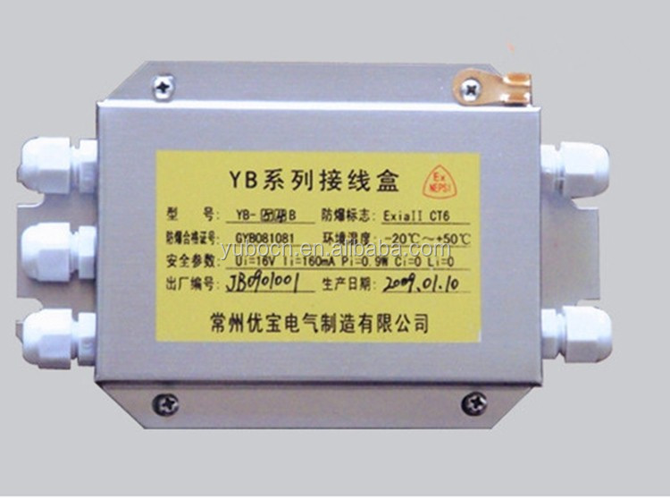 stainless steel explosion-proof junction box for weighing scales