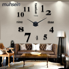 New Max3 wall clock watch DIY wall clock sitting room wall clock 1 meter large plate Max3 wall clock personality